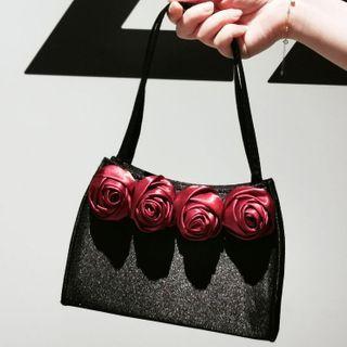 LOLIBOX(ロリボックス) - Flower Accent Handbag