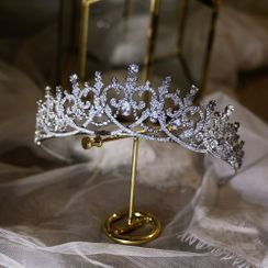 Vivian Design - Wedding Rhinestone Tiara