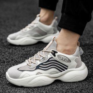 BELLOCK - Platform Lace Up Sneakers