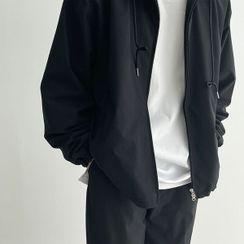 Seoul Homme - Hooded Windbreaker