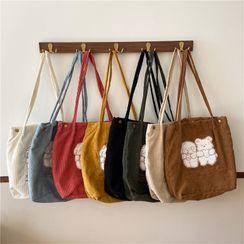Eastin - 小熊刺绣手提袋