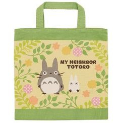 Skater - My Neighbor Totoro Square Cotton Lunch Bag
