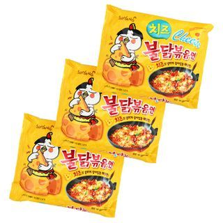 Samyang - Hot Chicken Stir Ramen Cheese Flavor (3 packs)