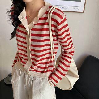 ZENME - Striped Shirt
