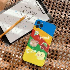 Wild Pony - Rainbow Print Phone Case for  iPhone 7 / 7 Plus / 8 / 8 Plus / X / XS / XR / XS Max / 11 /11 Pro / 11 Pro Max