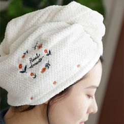 Cutie Pie - 刺繡乾髪毛巾