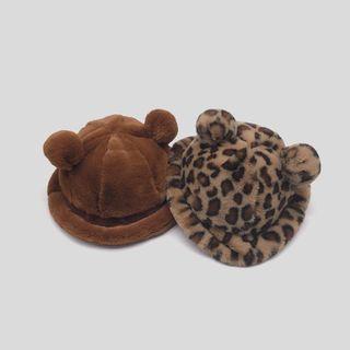 Raconteur - Bear Ear Chenille Bucket Hat