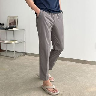Seoul Homme - Band-Waist Tapered Pants