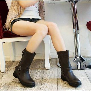 Alisse - 粗跟短靴