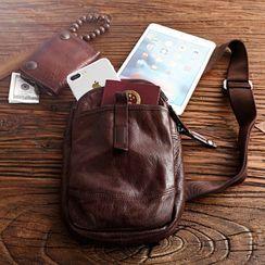Wavecho - Genuine Leather Sling Bag