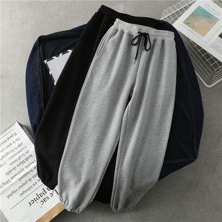 marumaroo - Drawstring Waist Sweatpants
