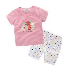 Seashells Kids - Kids Set: Printed T-Shirt + Shorts