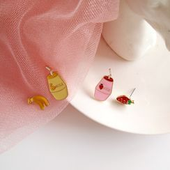 Siatra - Food Ear Stud / Clip-On Earring