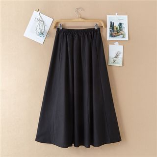 Sulis - A-Line Midi Skirt