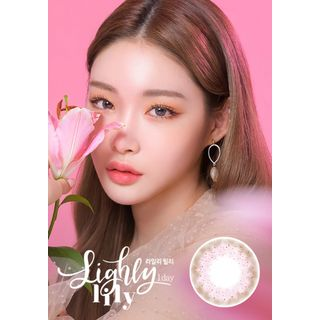 LENS TOWN - Lighly Lily 1-Day Color Lens #Pink
