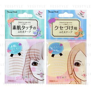 LUCKY TRENDY - Natural Double Eyelid Tape 30 pairs - 2 Types
