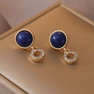 JAMIEL - Rhinestone Bead Dangle Earring