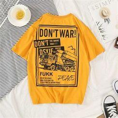 Acrius - Short Sleeve Print T-Shirt