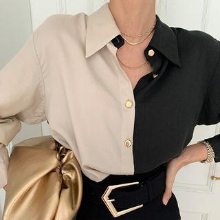 Coris - Paneled Shirt