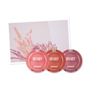 peripera - Pink Moment Pure Blushed Velvet Cheek (3 Colors)