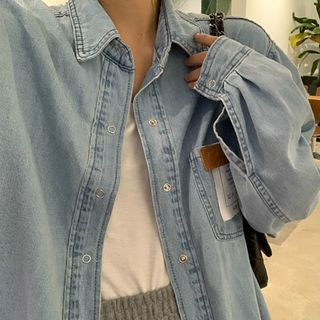 Moon City - Denim Shirt