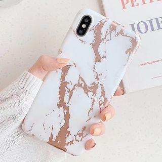 Rockit - Marble Print  Phone Case - iPhone 6 / 6 Plus / 6s / 6s Plus / 7 / 7 Plus / 8 / 8 Plus / X / XS / XS Max / XR / 11 / 11 Pro / 11 Pro Max