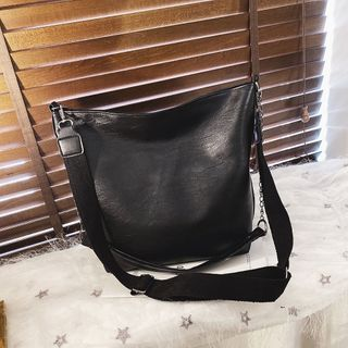Behere - Faux Leather Crossbody Bag