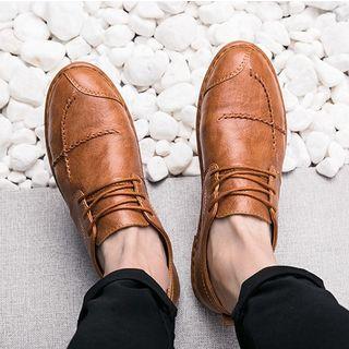 MARTUCCI - 饰缝线拼接牛津鞋