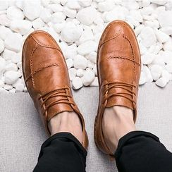 MARTUCCI - Stitched Panel Oxfords