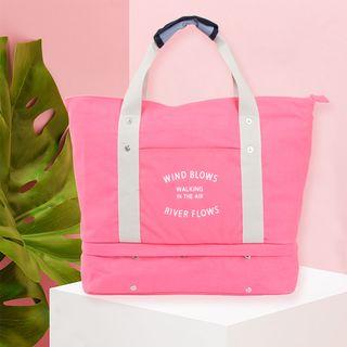 Lezi Bags - Lettering Travel Foldable Tote Bag