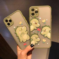Huella - Cartoon-Dinosaur Phone Case For iPhone SE / 6 / 6S / 6 Plus / 6S Plus / 7 / 7 Plus / 8 / 8 Plus / X / XS / XR / XS Max / 11 / 11 Pro / 11 Pro Max