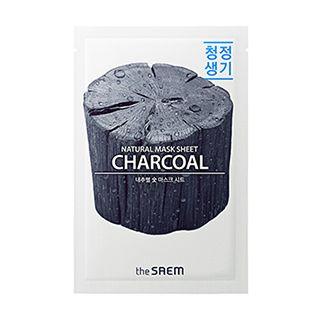 The Saem - Natural Charcoal Mask Sheet 1pc