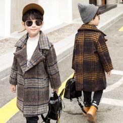 PAM - Kids Plaid Coat