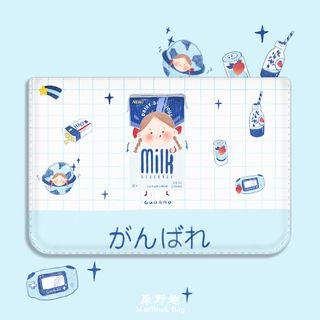 Filant - Girl & Milk Print MacBook Laptop Sleeve