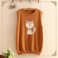 Kawaii Fairyland - Fox Knit Vest