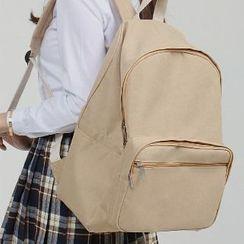 Asphalt - Canvas Plain Backpack
