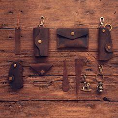 Giffare - 真皮钥匙套 / 数据线固线器