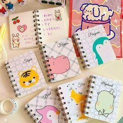 Eranso - Animal Print Small Notebook