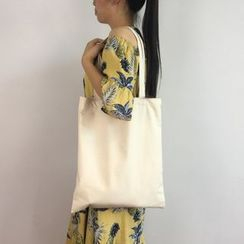 Cloud Forest - 純色帆布購物袋