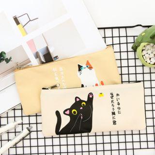 Lamington - Cat Print Pencil Case