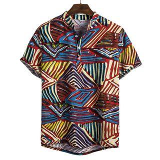 Sheck - Short-Sleeve Printed Shirt