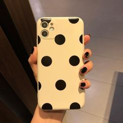 Huella - Dotted Phone Case For iPhone SE / 7 / 7 Plus / 8 / 8 Plus / X / XS / XR / XS Max / 11 / 11 Pro