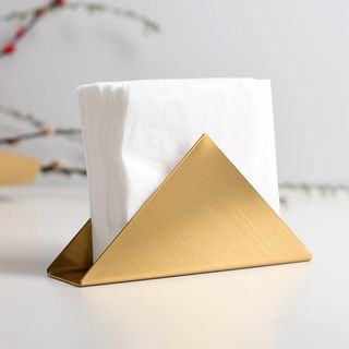 miss house - Stainless Steel Triangle Tissue Holder