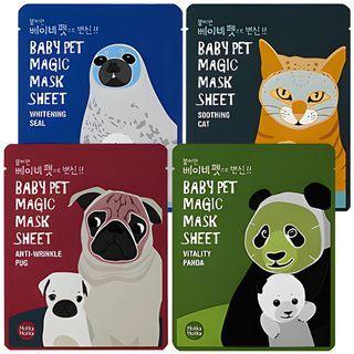 HOLIKA HOLIKA - Baby Pet Magic Mask Sheet 1pc (4 Types)