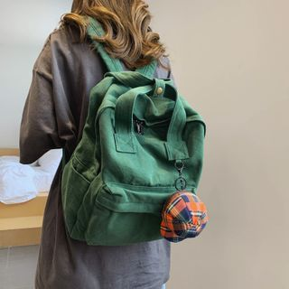 Evanki - Canvas Backpack / Bag Charm / Set