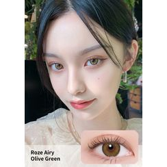 i - DOL - Roze Airy Monthly Color Lens #Olive Green