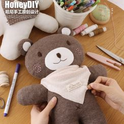 DOLLIY - Baby DIY  Bear Doll Toy