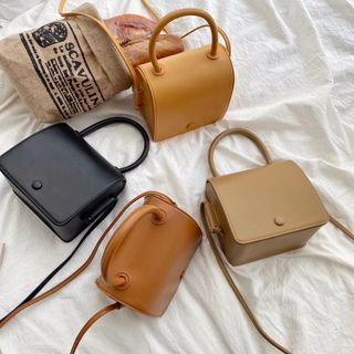 SUTOZ(ストーズ) - Faux-Leather Mini Satchel