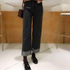 Moon City - Wide-Leg Jeans