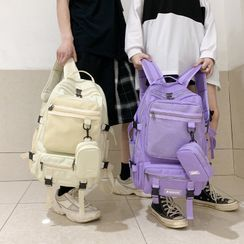 Carryme - Set: Lightweight Backpack + Pouch